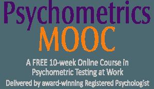 Psychometrics MOOC: Free Online Training in Psychometric Testing