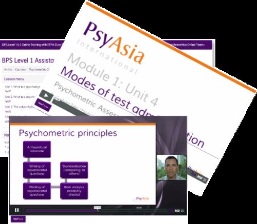 BPS Level 1 & 2 Online Training, Psychometric Courses
