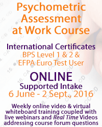 BPS Level 1 & 2 + EFPA Euro Test User
